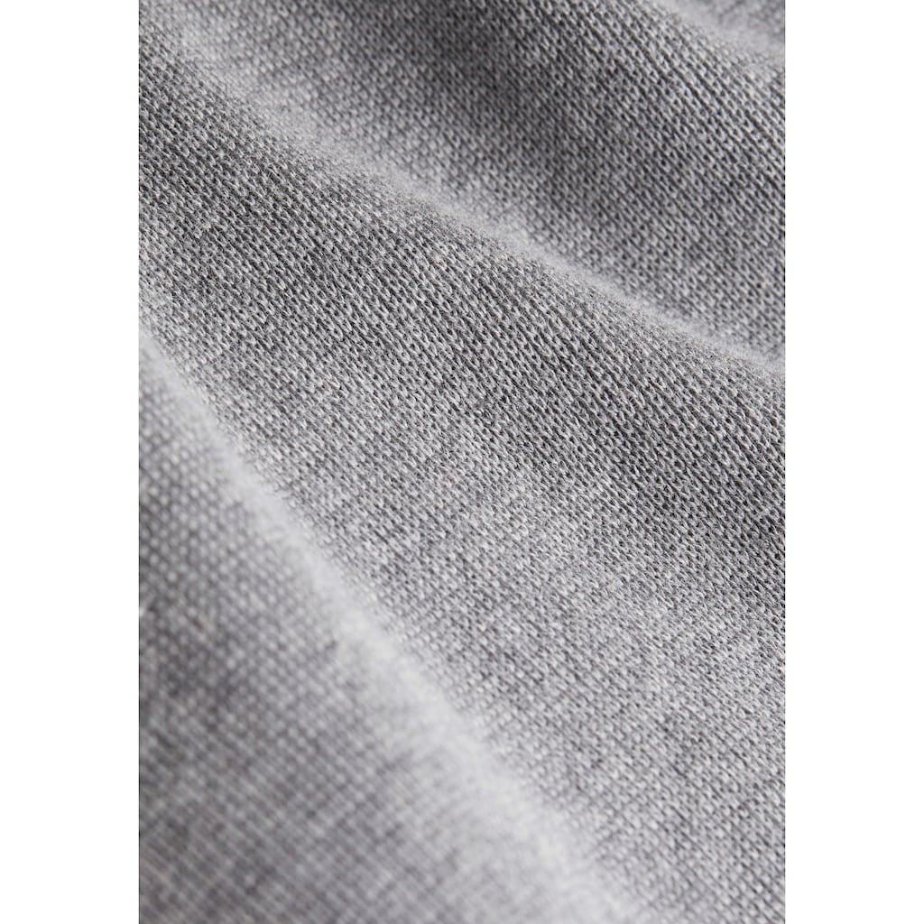 Esprit Strickpullover, mit Reißverschluss