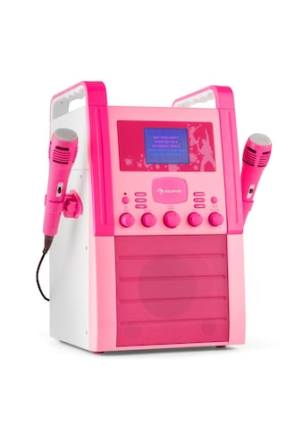 Auna Karaokeanlage CD - Player AUX 2 x Mikrofon pink »KA8P - V2 PK« kaufen