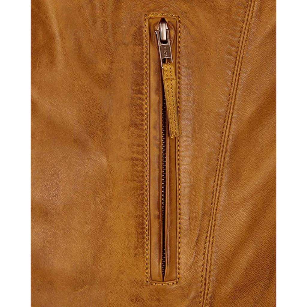 JCC Lederjacke »Macadam«, Lederjacke mit zwei Brusttaschen