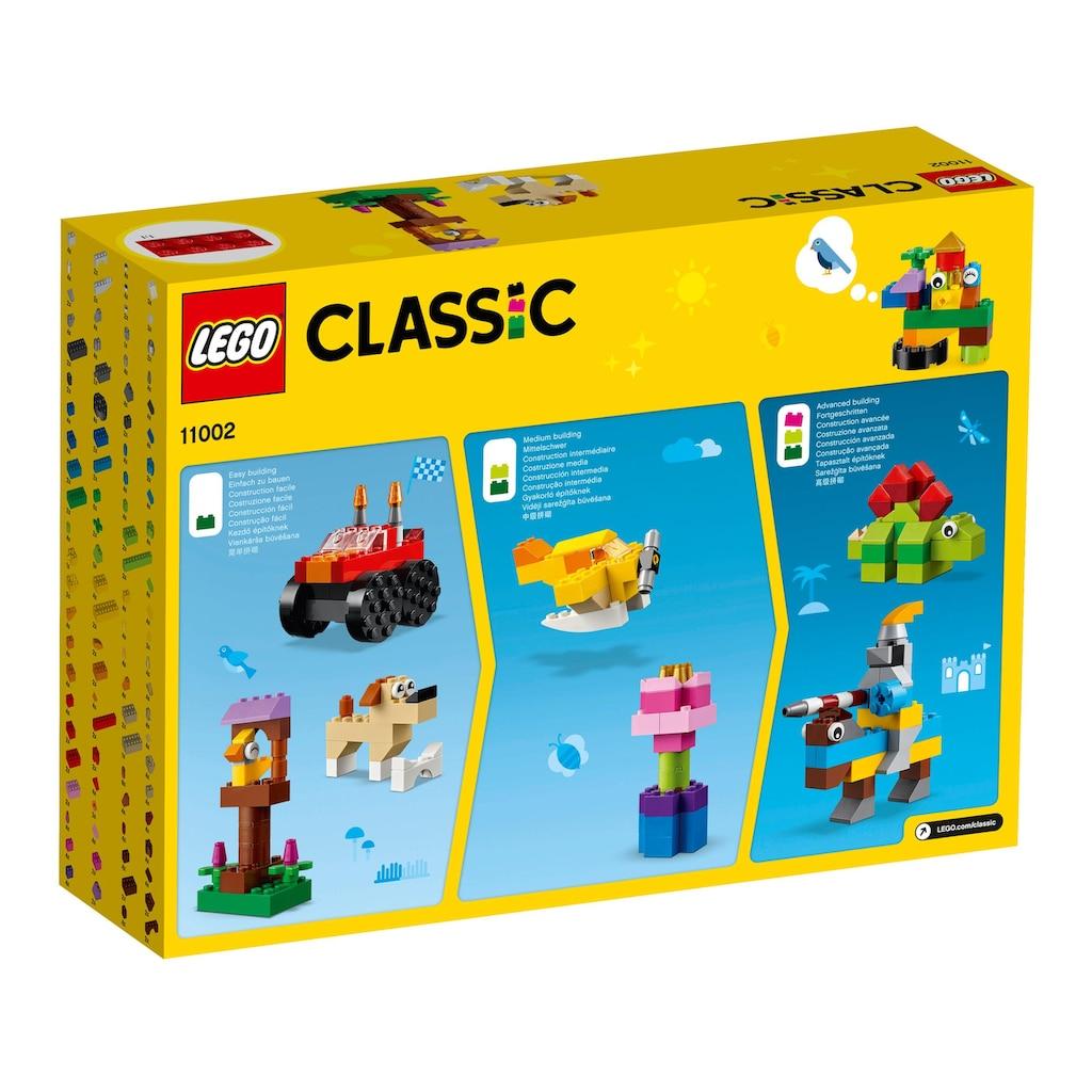 LEGO® Konstruktionsspielsteine »Bausteine - Starter Set (11002), LEGO® Classic«, (300 St.), Made in Europe