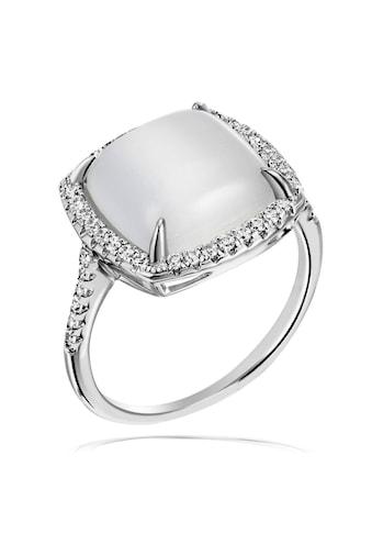 goldmaid Silberring, Ring 925 Silber synth. Mondstein kaufen