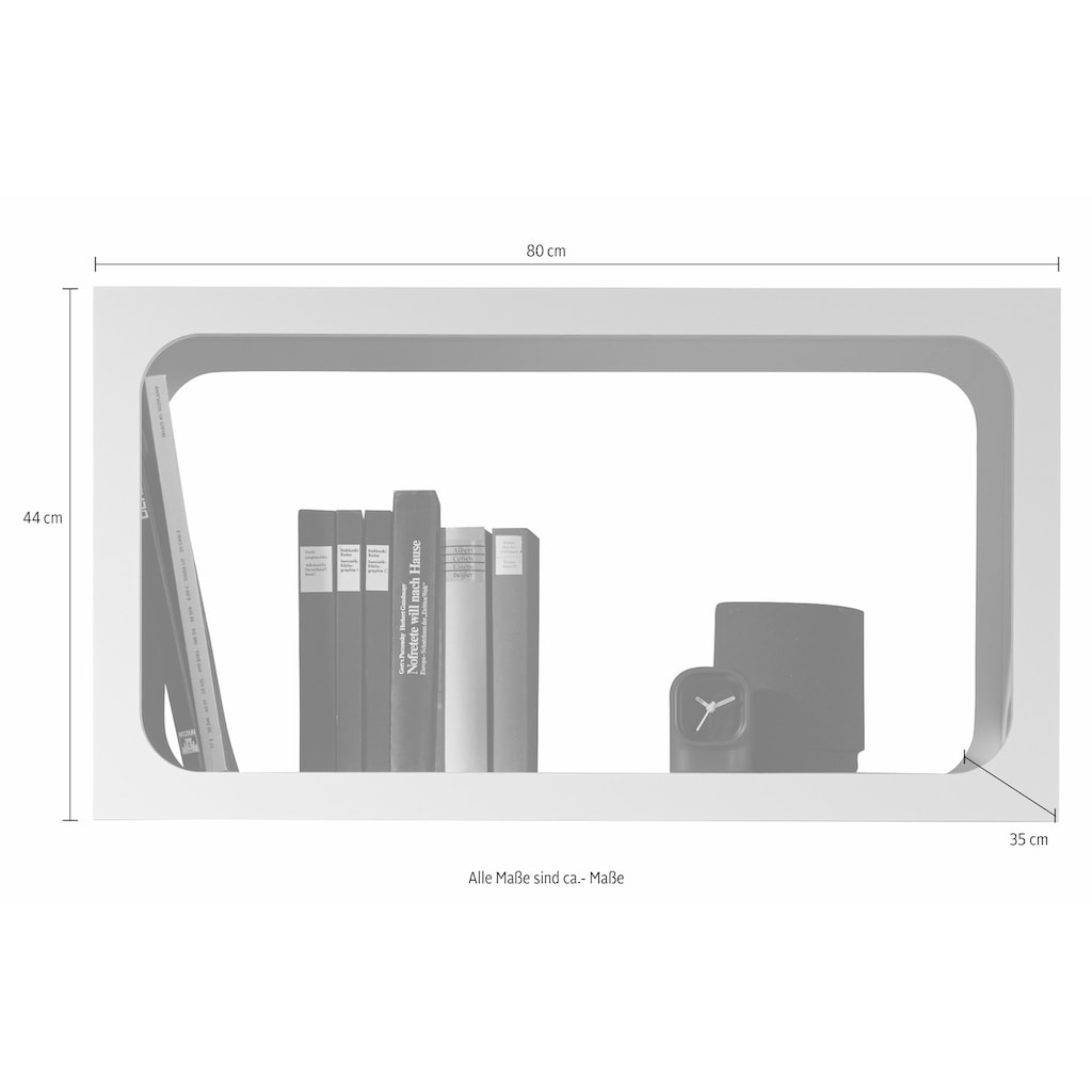 Müller SMALL LIVING Regalelement »BOXIT«, (1 St.), stapelbares Regalmodul auch als Solitär einsetzbar, erweiterbar um beliebig viele Elemente
