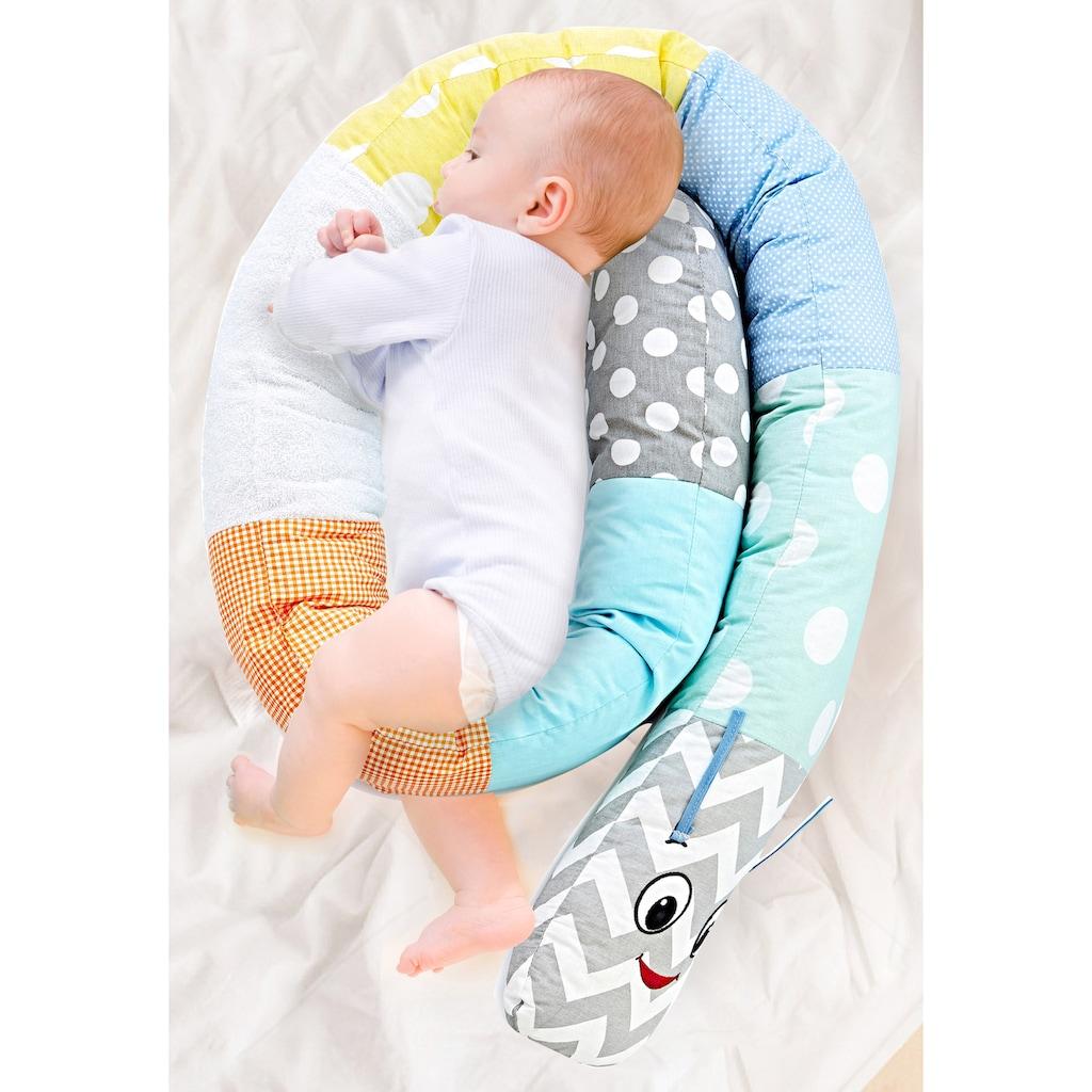 Babyjem Bettnestchen »Nestchenschlange Raupe girls«