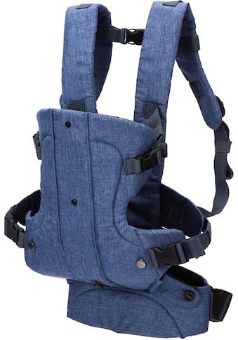 Fillikid Bauchtrage »WALK blau/melange«, bis 15 kg kaufen