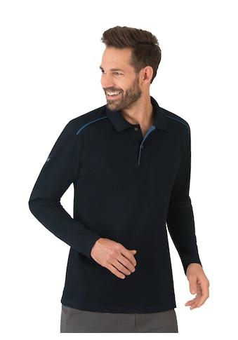 Trigema Langarm-Poloshirt, aus Biobaumwolle kaufen