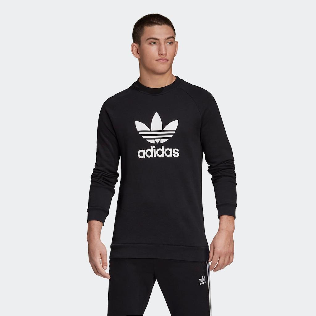 adidas Originals Sweatshirt »TREFOIL WARM-UP«, Raglanärmel
