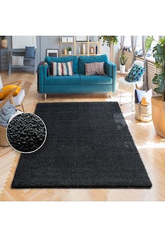 my home Hochflor-Teppich »Vince«, rechteckig, 31 mm Höhe, besonders weich durch... kaufen
