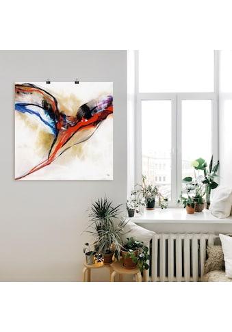 Artland Wandbild »Engel - abstrakt I«, Muster, (1 St.), in vielen Größen &... kaufen