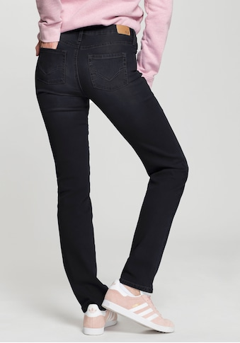 H.I.S Straight-Jeans »Mid-Waist«, Nachhaltige, wassersparende Produktion durch OZON WASH kaufen