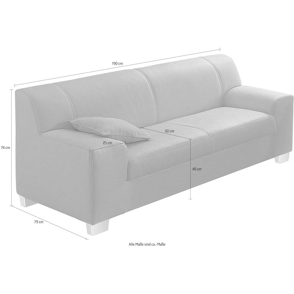 DOMO collection 3-Sitzer »Amando«