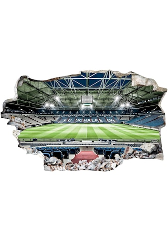 Wall-Art Wandtattoo »FC Schalke 04 Arena Tribüne« kaufen