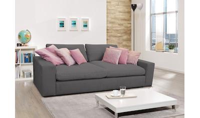 alina Big-Sofa »Sandy«, mit Steppung an den Rückenkissen; Gesamtbreite 265 cm kaufen