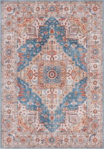 NOURISTAN Teppich »Sylla«, rechteckig, 5 mm Höhe, Vintage Design, Orient-Optik,... kaufen