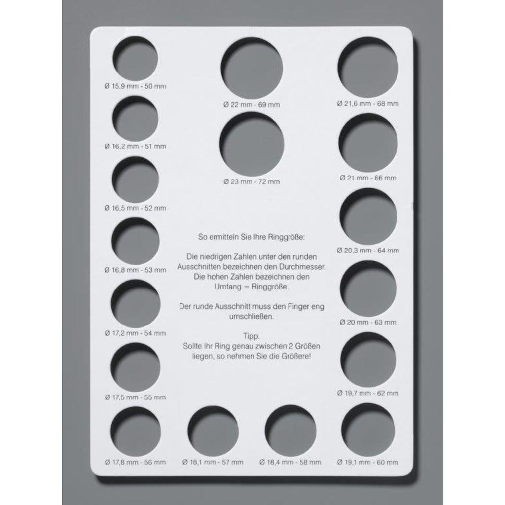 Firetti Diamantring »2-reihige Optik, Weißgold«, mit Brillanten