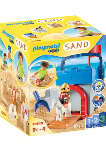 Playmobil® Konstruktions-Spielset »Kreativset Sandburg (70340), Playmobil 123 - Sand«, Made in Europe kaufen