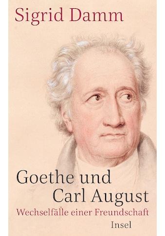 Buch »Goethe und Carl August / Sigrid Damm« kaufen