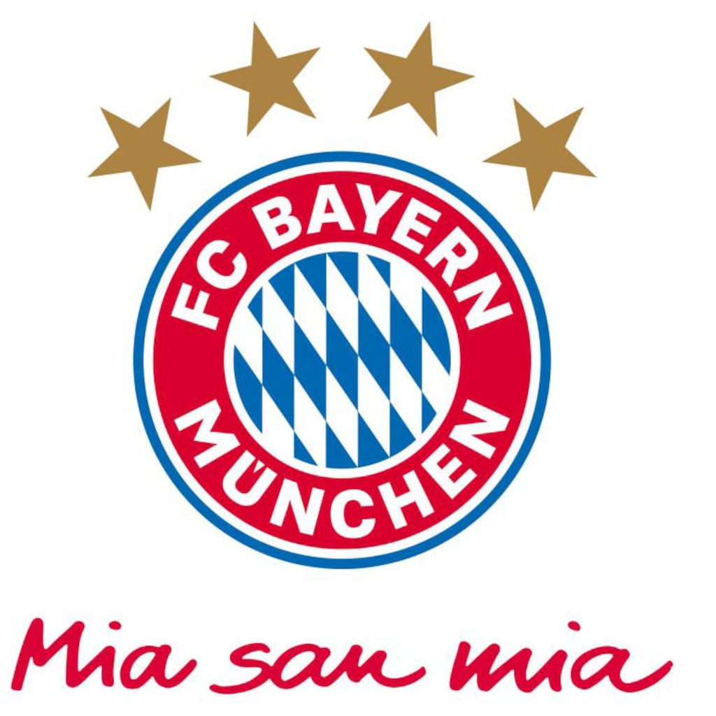 Wall-Art Wandtattoo »FC Bayern München Mia San Mia«