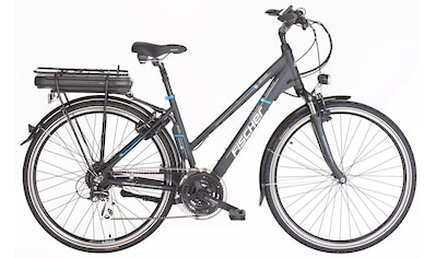FISCHER Fahrräder E - Bike »ETD 1401«, 24 Gang Shimano Acera Schaltwerk, Kettenschaltung, Heckmotor 250 W kaufen