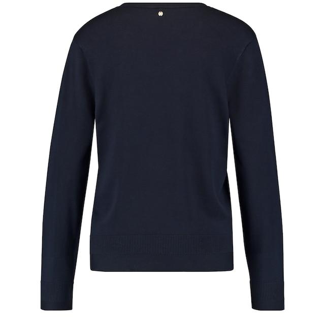 GERRY WEBER V-Ausschnitt-Pullover »Pullover mit V-Ausschnitt«