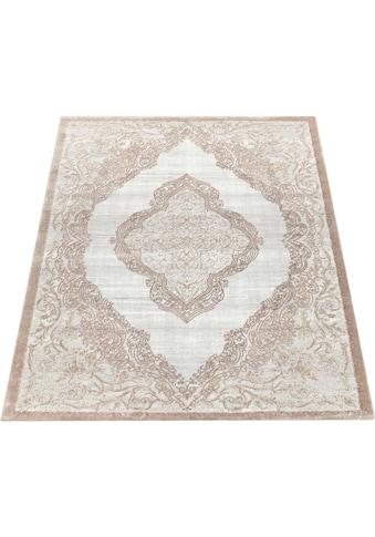 Paco Home Teppich »Elizabeth 052«, rechteckig, 16 mm Höhe, Hoch-Tief-Effekt,... kaufen