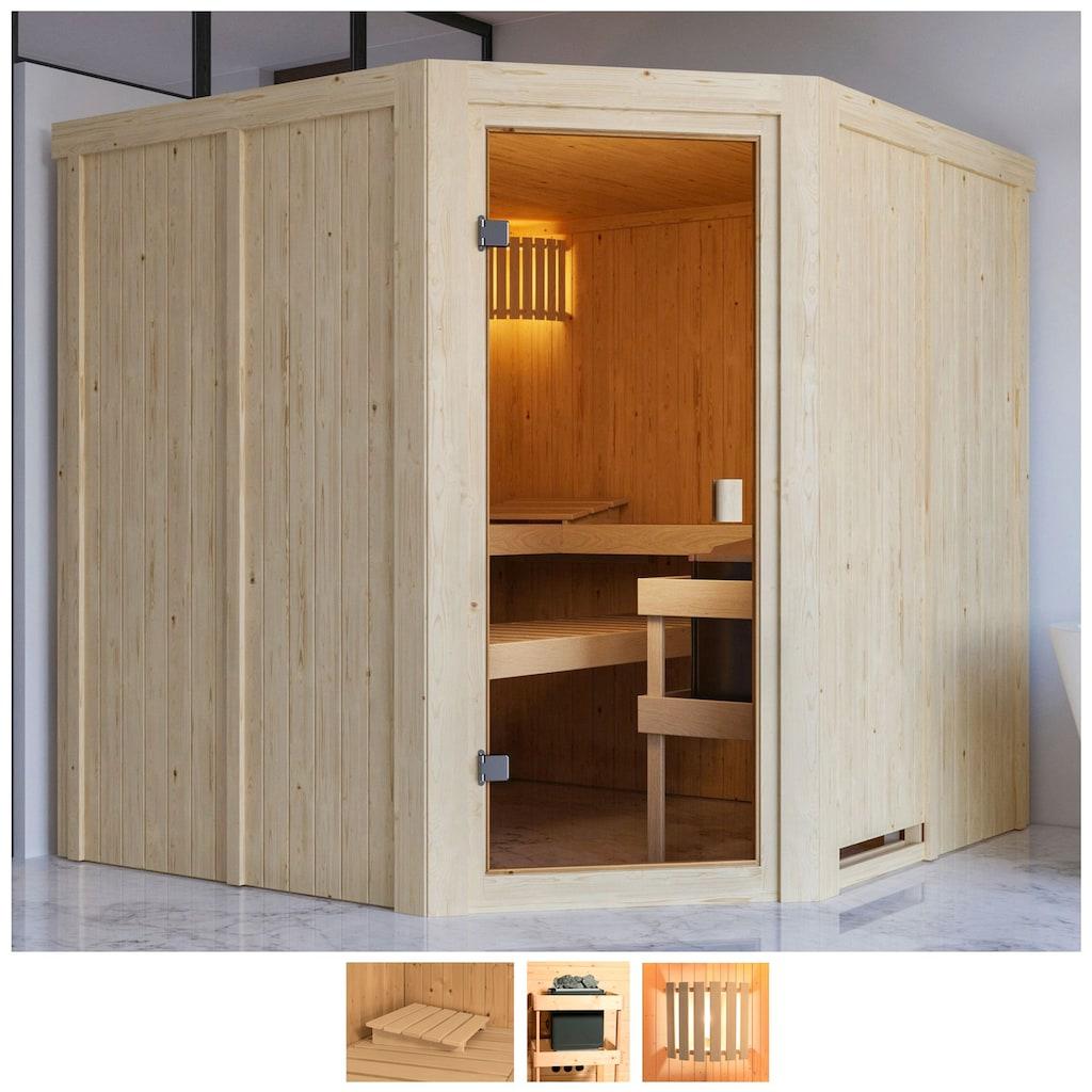 Karibu Sauna »Käthe«, ohne Ofen