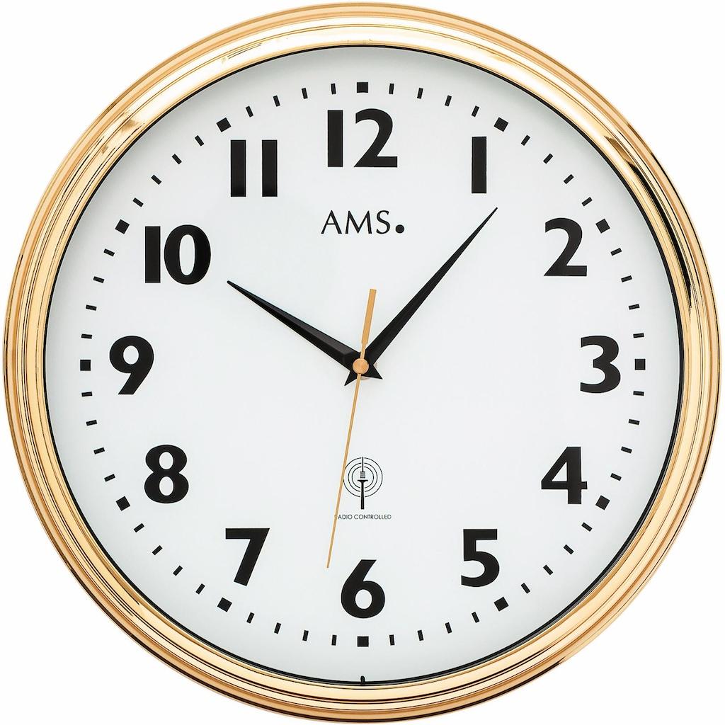 AMS Funkwanduhr »F5963«
