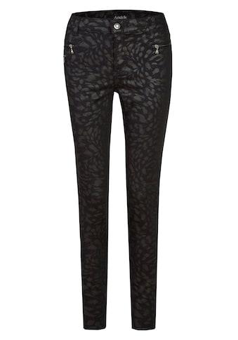ANGELS Jeans,Malu Zip' mit Allover-Muster kaufen