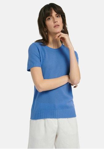 Peter Hahn Kurzarmpullover »Rundhals-Pullover aus 100% Premium-Kaschmir«, . kaufen