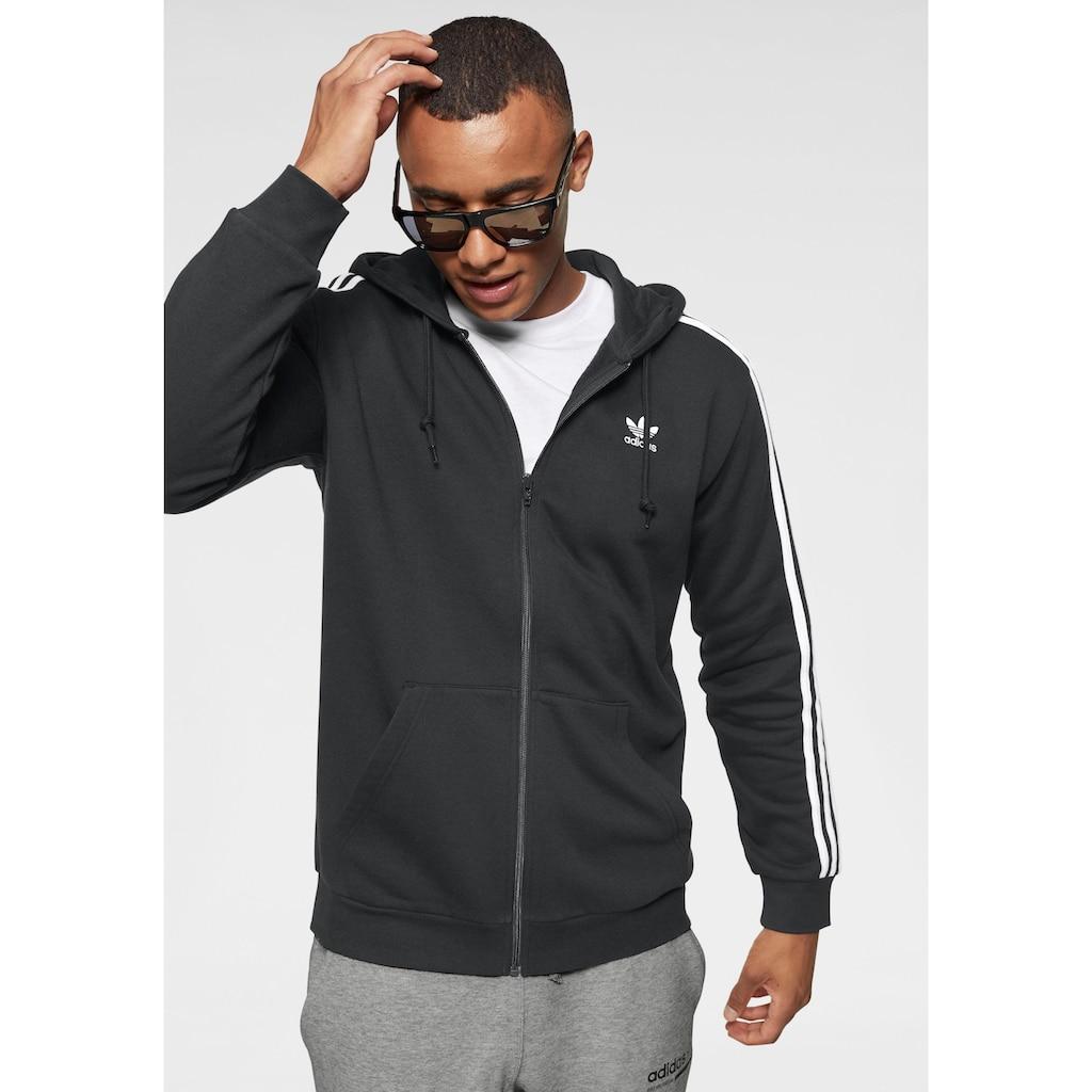 adidas Originals Kapuzensweatjacke »3-STREIFEN KAPUZENJACKE«