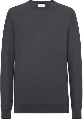 Calvin Klein Rundhalspullover »TWO TONE MICRO STITCH CREW NECK« kaufen