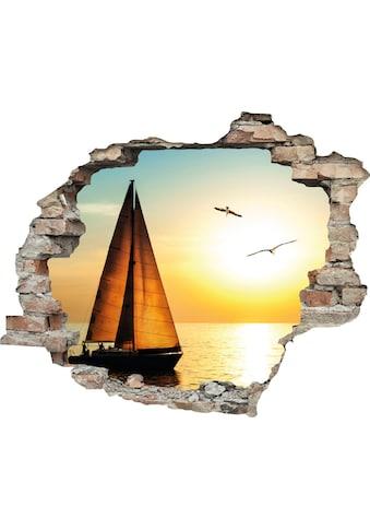 queence Wandtattoo »Segelboot« kaufen