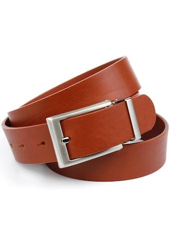 Anthoni Crown Ledergürtel, im klassischen Design kaufen