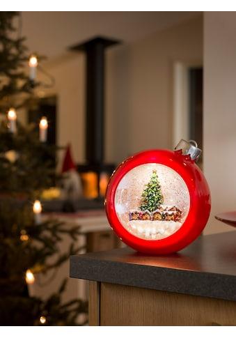 KONSTSMIDE LED Weihnachtskugel mit Weihnachtsmarkt kaufen