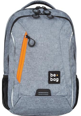 Pelikan Schulrucksack »be.bag be.urban, grey melange« kaufen