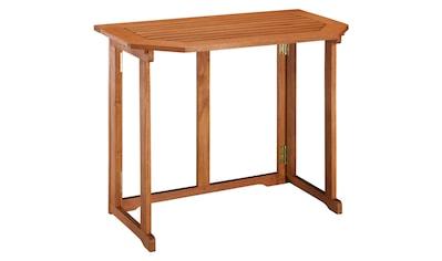 MERXX Gartentisch »Holz« kaufen
