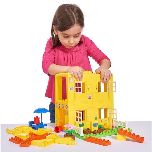 """BIG Konstruktions-Spielset """"BIG-Bloxx Peppa Pig, Peppa House"""", Kunststoff, (107-tlg.)"""