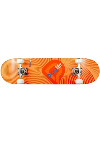 Playlife Skateboard »Illusion Orange« kaufen