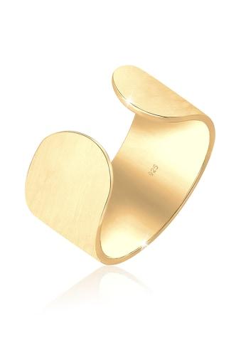 Elli Fingerring »Bandring Offen Matt Blogger Verstellbar 925 Silber« kaufen