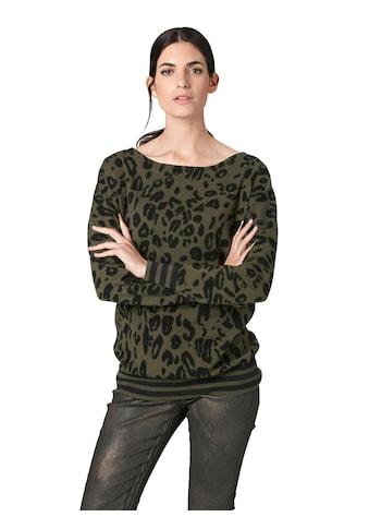 ASHLEY BROOKE by Heine Strickpullover »Druck-Pullover« kaufen