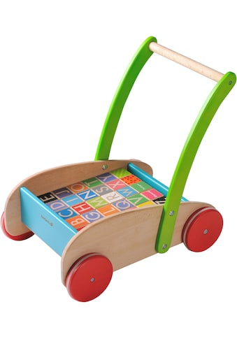EverEarth® Lauflernwagen »Buchstaben«, FSC®-Holz aus gewissenhaft bewirtschafteten... kaufen