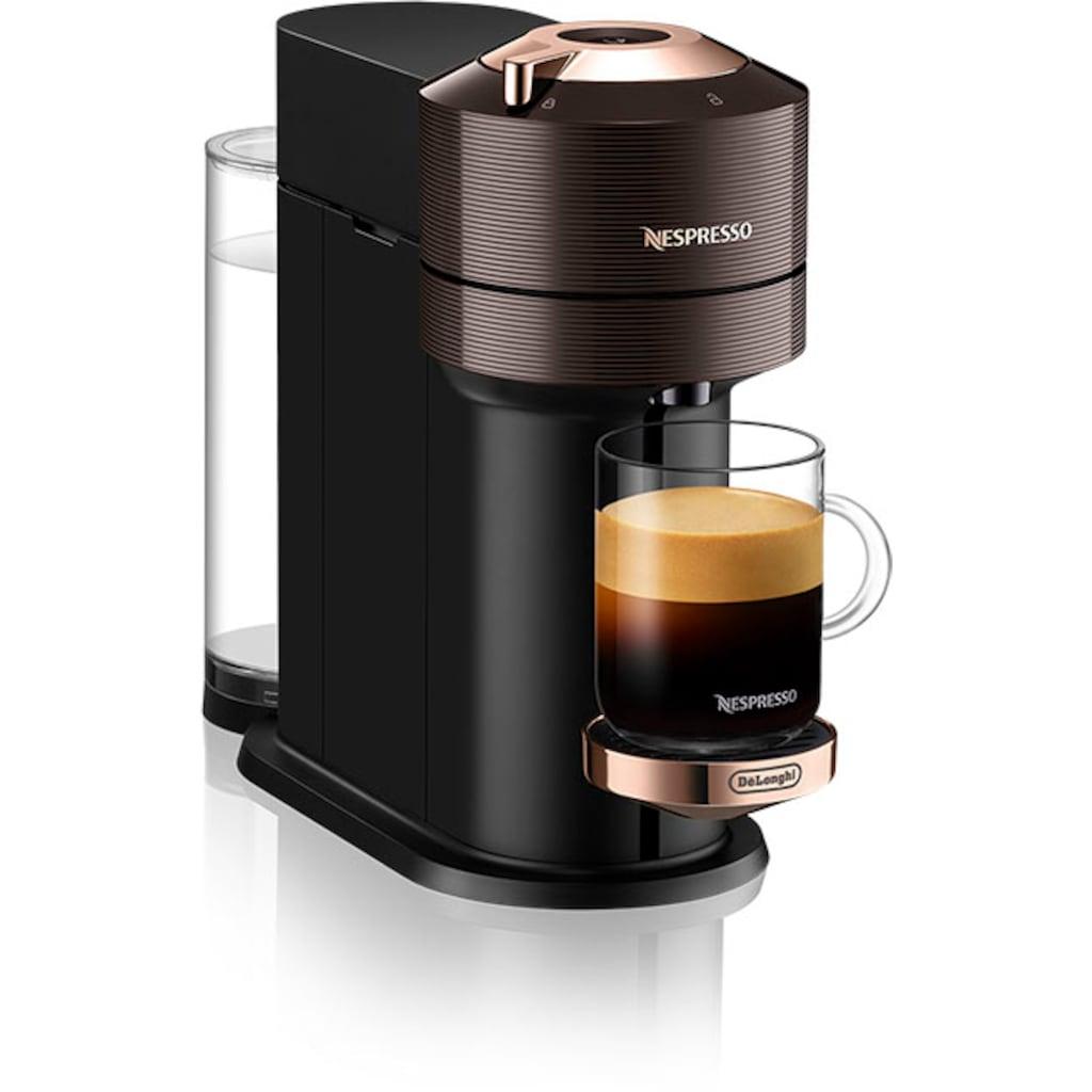Nespresso Kapselmaschine »ENV 120.BWAE Vertuo Next Premium«, inkl. Aeroccino Milchaufschäumer, braun
