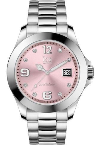 ice-watch Quarzuhr »ICE steel classic - Light pink silver - Stones - Medium - 3H, 16776« kaufen