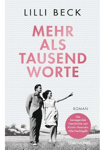 Buch »Mehr als tausend Worte / Lilli Beck« kaufen