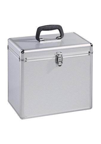 Hama LP Koffer 50, Koffer für bis zu 50 Schallplatten, silber »Disc - Koffer« kaufen