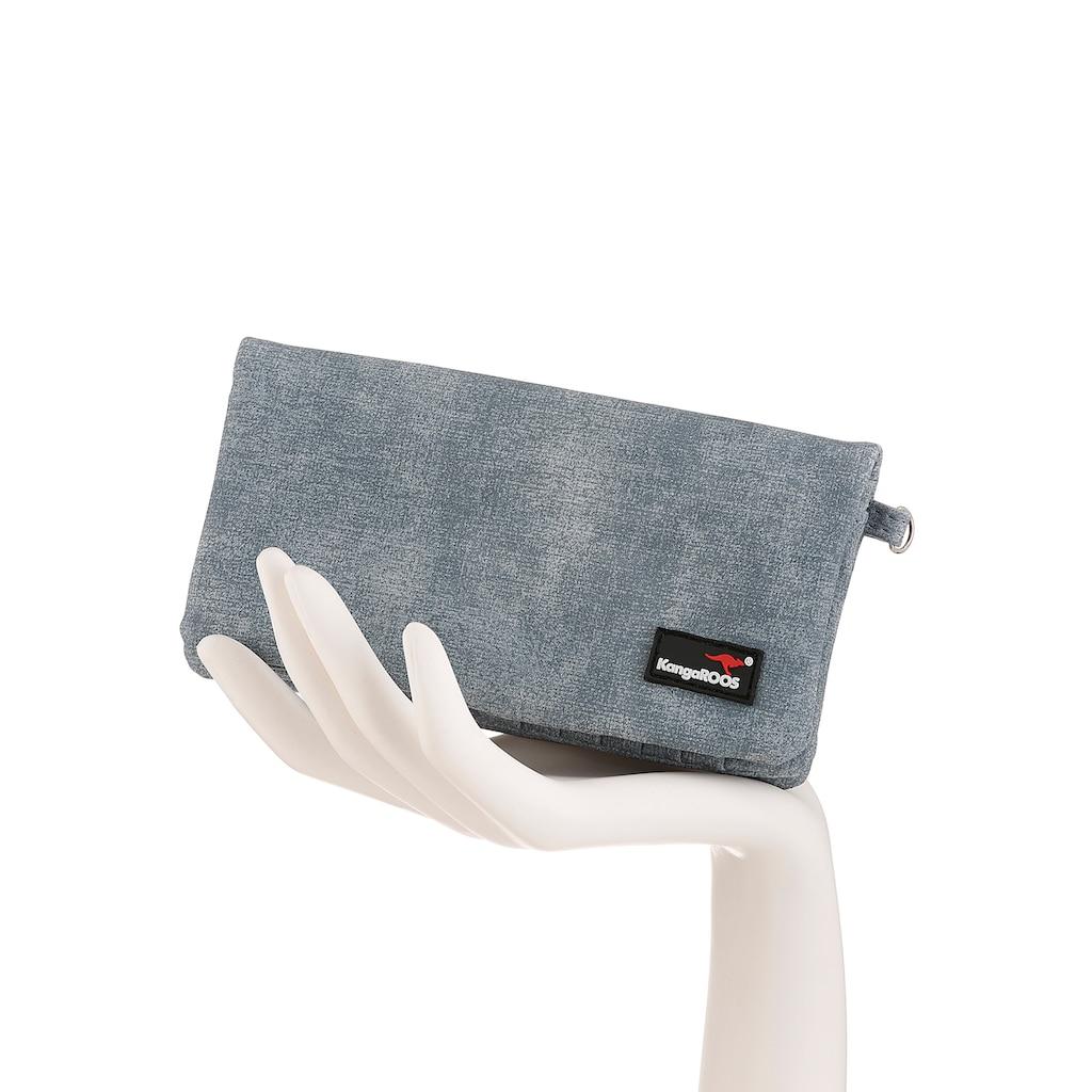 KangaROOS Geldbörse, mit praktischer Handschlaufe