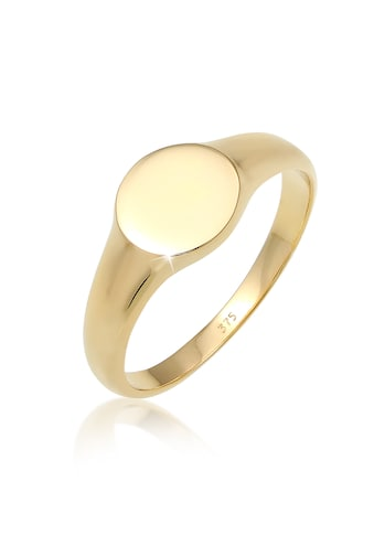 Elli Fingerring »Siegelring Royal Geo Basic Stilvoll 375 Gelbgold« kaufen
