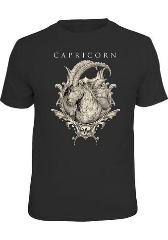 LOBO NEGRO® T-Shirt mit coolem Front-Print kaufen