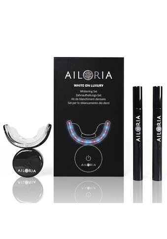 "AILORIA Zahnpflege - Set ""WHITE ON LUXURY Whitening Set"" kaufen"