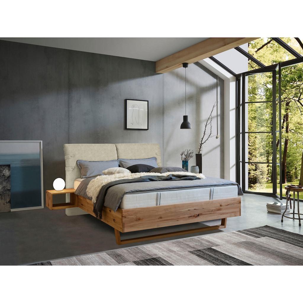ADA premium Massivholzbett »Nolana«, inkl. Nachtkonsolen, wahlweise mit Matratze und Lattenrost
