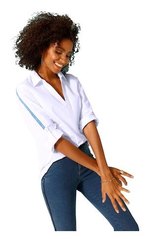 Classic Basics Bluse mit Glaonstreifen kaufen